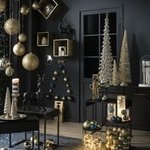 Ambiance Noël Effet Black et Or