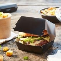 Boîtes à pizza & hamburger