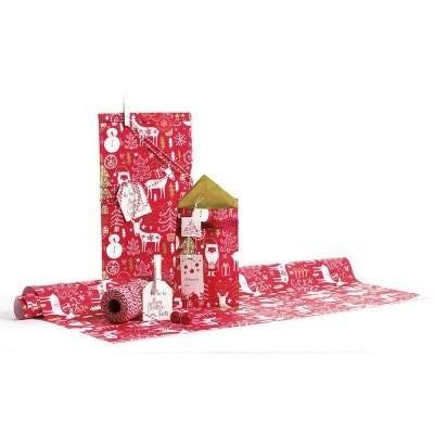 Kits emballages cadeaux de Noël