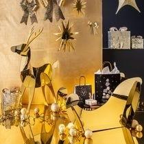 Ambiance Noël Black et Or