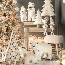Ambiance Noël nature Givrée
