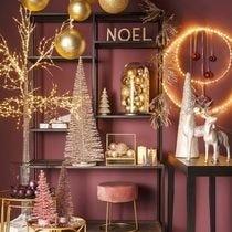 Ambiance Noël Boudoir poudré