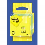 Post-it mini cube - Citron