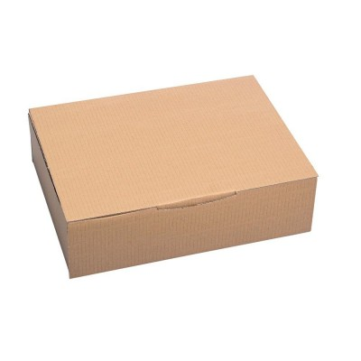 Boite expédition simple cannelure brune31x21,5x7cm par 20-