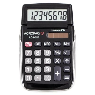 Calculatrice de poche AC901 - 8 chiffres-Calculatrices