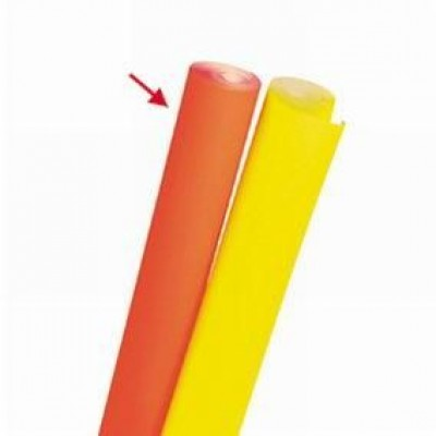 Papier fluo orange 0,70 x 10 m-Supports d'écriture (fluo)