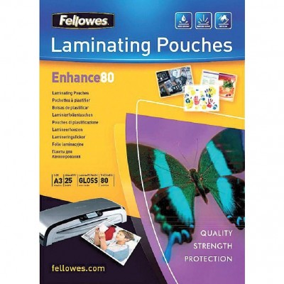 Pochette plastification A3 80 microns - Par 25-