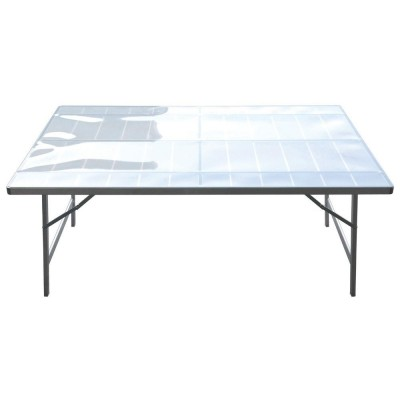 Table  plateau  100 x 150 x 80 cm-Lits de camp forains