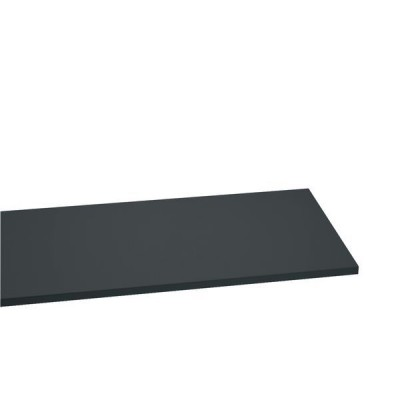 Tablette gris anthracite L60 x P40 x H2,2cm-Tablettes bois