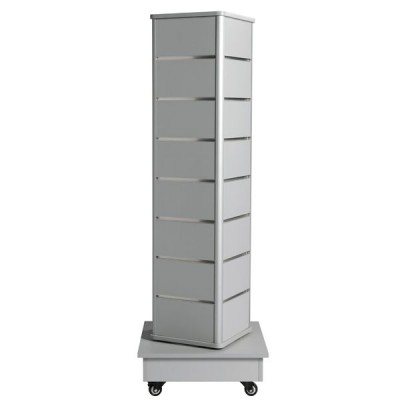 Tour 4 faces 141 cm - ton gris-Tours