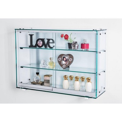 vitrine murale fond verre serigraphie. Black Bedroom Furniture Sets. Home Design Ideas